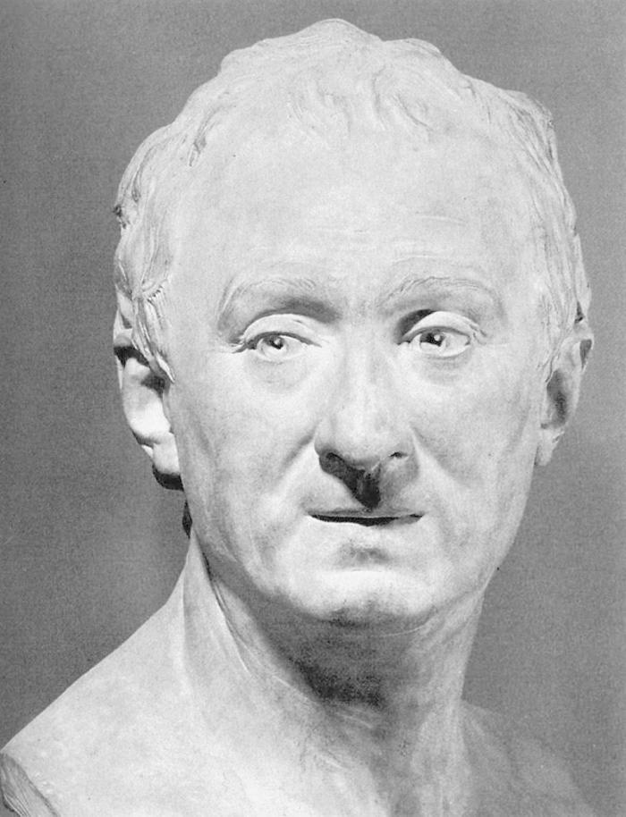 Denis Diderot by Jean Antoine Houdon