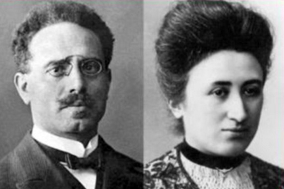 Karl Liebknecht, Rosa Luxemburgo, filósofa, marxista, economista, política, líder, 13