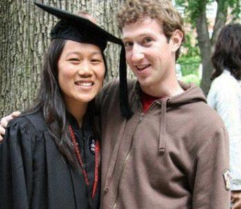 Mark Zuckerberg - Facebook - Esposa - Empresário e Programador - 9