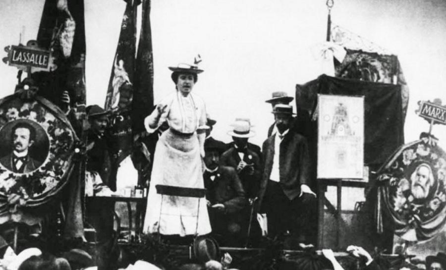 Rosa Luxemburgo, filósofa, marxista, economista, política, líder, 11