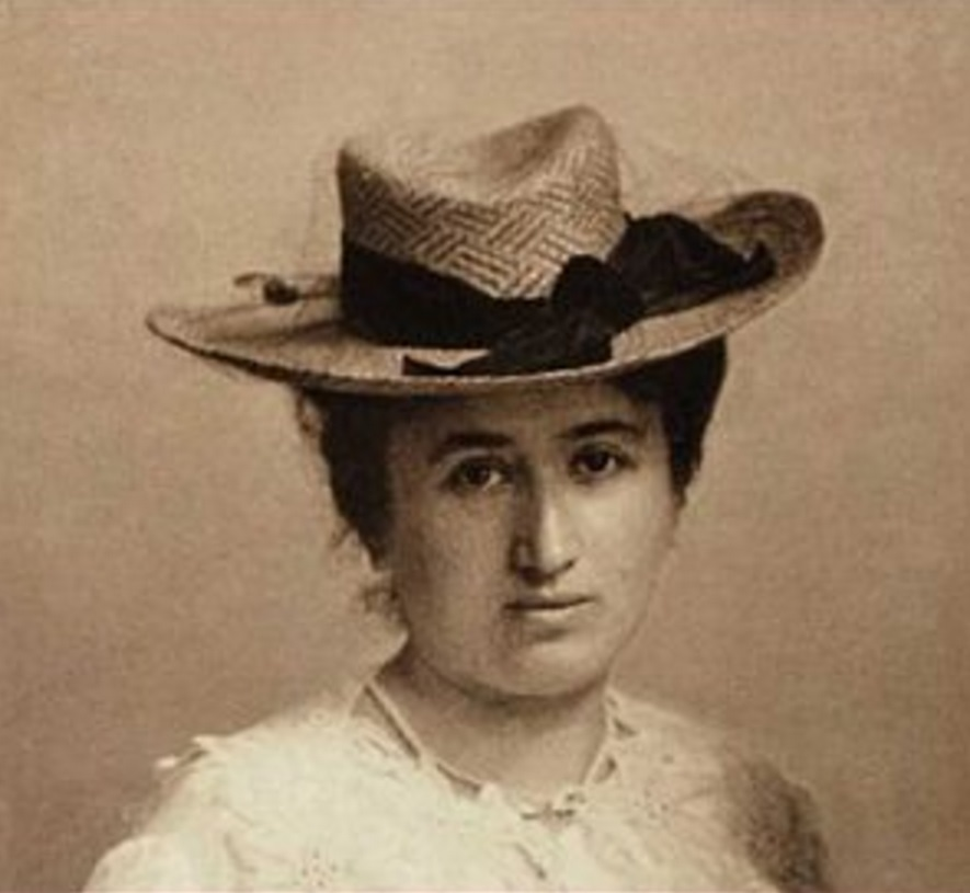Rosa Luxemburgo, filósofa, marxista, economista, política, líder, 6