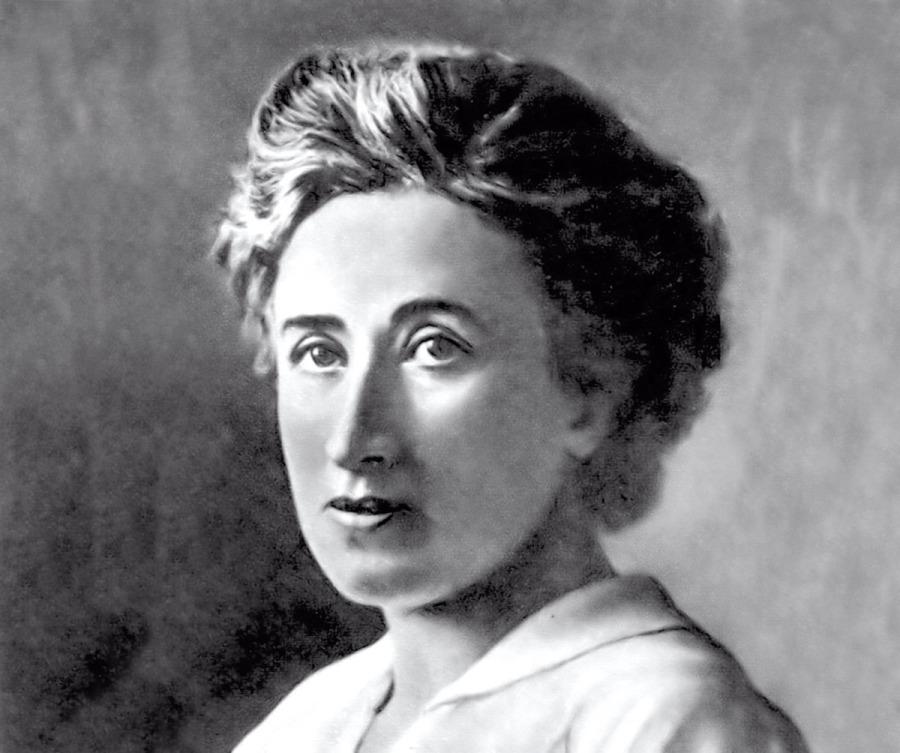 Rosa Luxemburgo, filósofa, marxista, economista, política, líder, 8