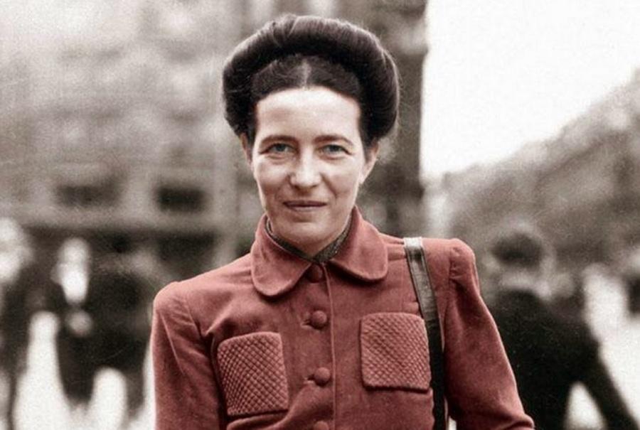 Simone de Beauvoir, escxritora, filósofa, 5