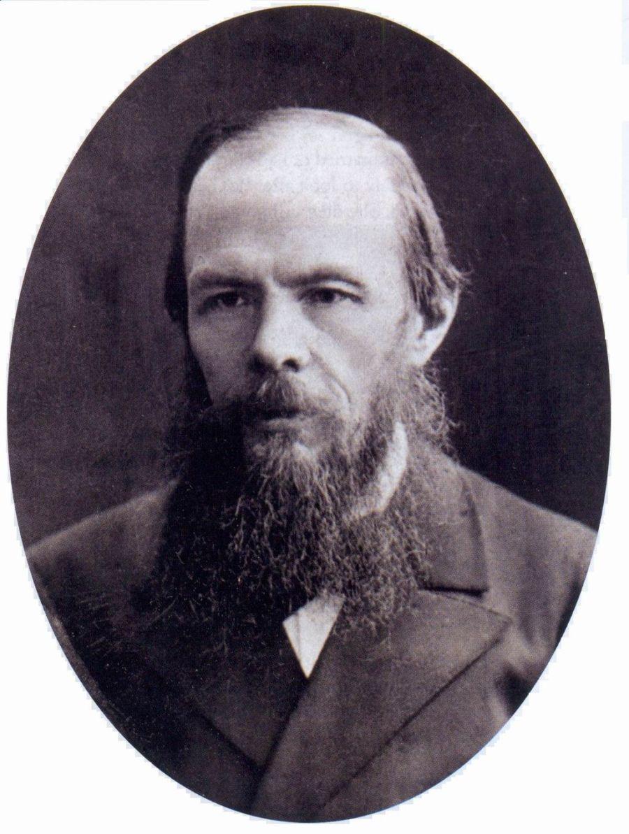 Fiódor Dostoiévski, fotografado em 1879.