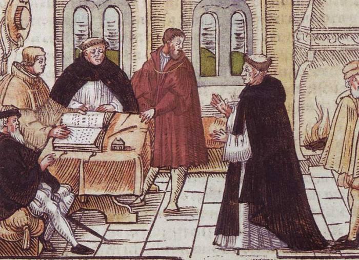 Lutero e o Cardeal Caetano