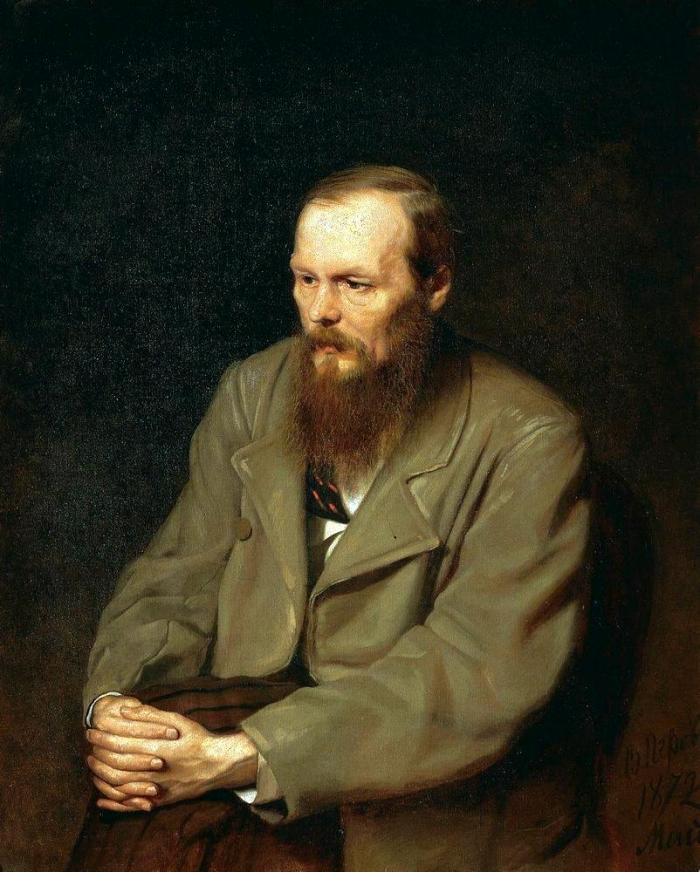 Retrato de Fiódor Dostoiévski (1872), por Vassilij Grigorovič Perov