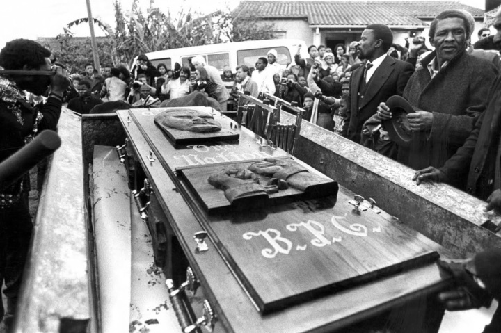 Funeral de Steve Biko