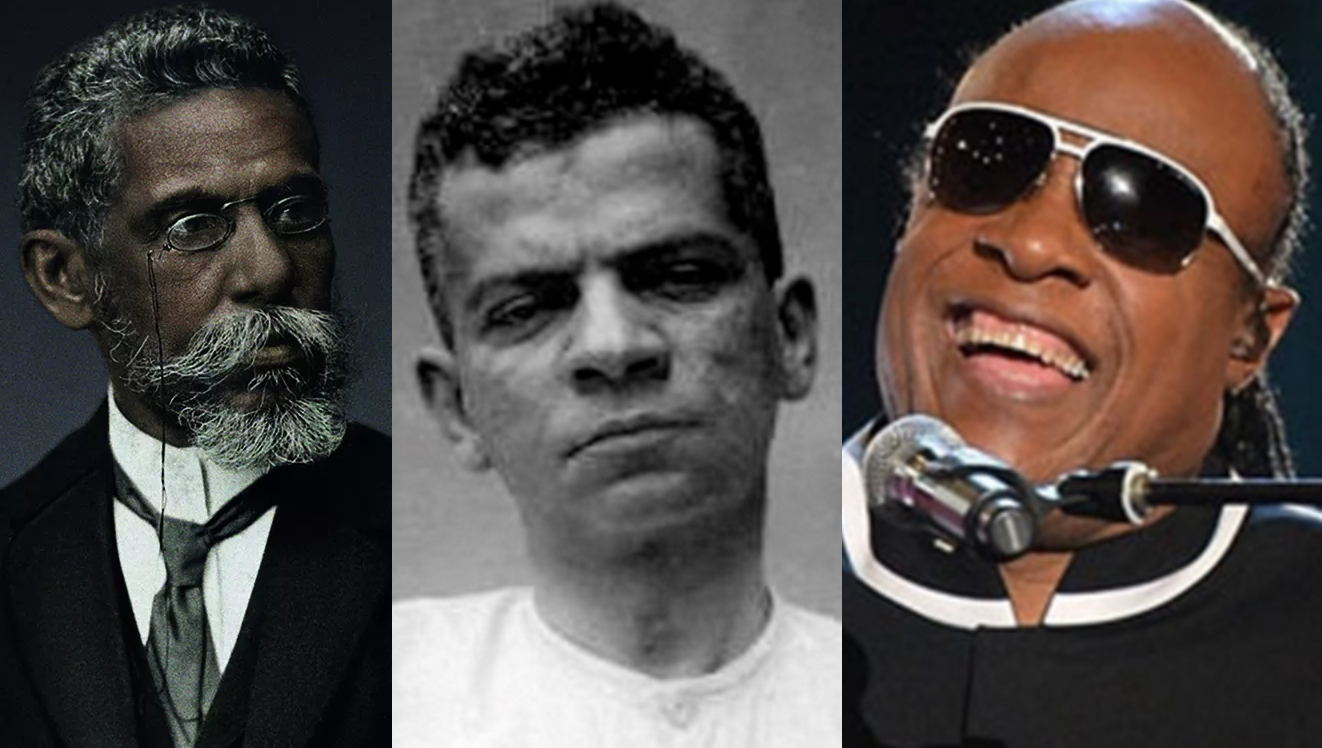 13 de Maio – Lima Barreto, Stevie Wonder e Machado de Assis